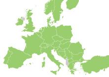 Interrail Europa landen